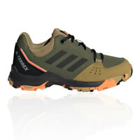 adidas Boys Terrex Hyperhiker Walking Shoes Green Sports Outdoors Breathable