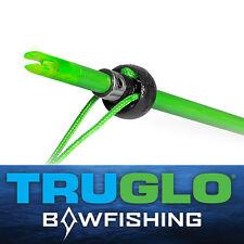 @NEW@ 3- TruGlo Bowfishing Arrow Safety Slides/Stops/Nocks! TG147A1