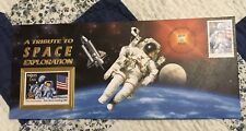 Space Shuttle FLOWN Postage Stamp