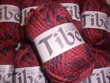10 x 50 GRMS TIBET SUPER CHUNKY WITH WOOL  BY STYLECRAFT # MAGENTA