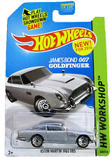 HOT WHEELS James Bond 007_ASTON MARTIN 1963 DB5 Die-Cast from Goldfinger_MIP_New