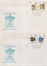 """2924/7 """"Historische Briefkästen"""" FDC"""