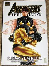 Marvel Premier Ed Avengers Initiative Disassembled Hbk Tpb Still Shrink Wrapped
