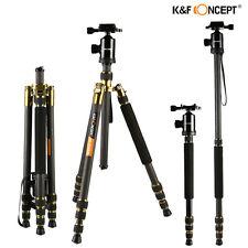 K&F Concept Stabile Kamerastativ Licht Carbon Fotostativ Einbeinstativ Kugelkopf