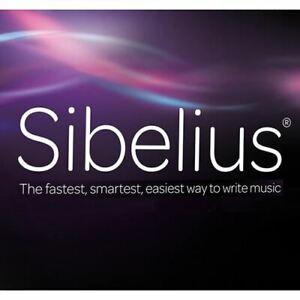 Avid Sibelius 1-Year Subscription