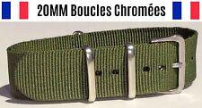 NATO ★ 20MM ★ N°3 ★ Bracelet montre Watch Band Strap Nylon Military Army Fashion
