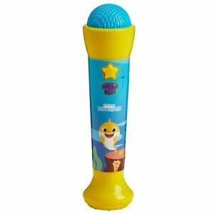 Baby Shark Official Silly Sing-Along Microphone Underwater Voice Filter_UK