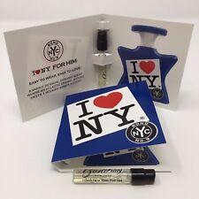 Bond No. 9 I Love New York for Him vials quantity three (3)