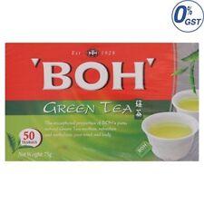 Malaysia Cameron Highlands BOH Green Tea Bags 50pcs 75g