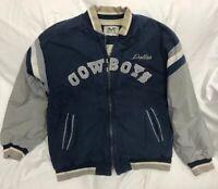 Vintage DALLAS COWBOYS NFL Mirage Jacket XL *See Description* Football