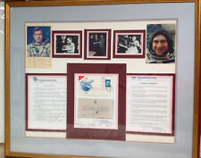FLOWN 30TH ANNIVERSARY SPUTNIK COVER SIGNED WITH CERTIFICATE & PICTURES