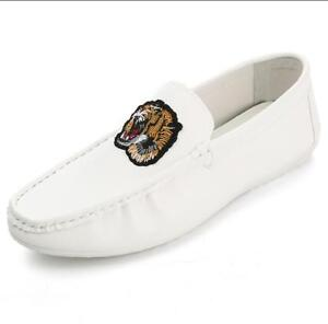 New Men's Minimalism Driving casual Loafers Leather Moccasins Slip on penny shoe