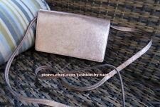 6502f0058fb2 Coach F39066 Hayden Foldover Crossbody Clutch in Crinkle Metallic Leather