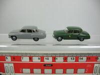 AB65-0,5# 2x Brekina H0 PKW/Modell Wartburg 311, sehr gut