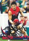 ✺Signed✺ 2009 MELBOURNE DEMONS AFL Card RUSSELL ROBERTSON