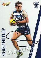 ✺Signed✺ 2015 GEELONG CATS AFL Card STEVEN MOTLOP