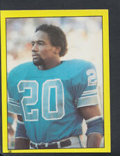 TOPPS 1982 Football Americano Adesivo N. 38-BILLY Sims, Detroit Lions (T109)