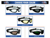 Bolle Tracker Safety Glasses Goggles ANSI Z87+ Work Eyewear Choose Lens Color