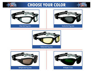 Bolle Tracker Safety Glasses Goggles ANSI Z87+ Work Eyewear Choose Lens Color