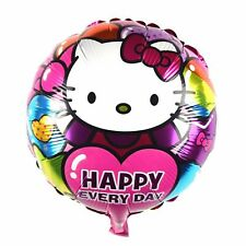 3 Piece Hello Kitty Helium Foil Balloon Alles Good Heart Present Congratulations