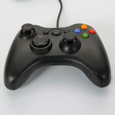 Wired Xbox 360 USB Remote Game Controller for PC Windows Computer Black US