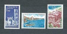 SERIE TOURISTIQUE - 1976 YT 1902 à 1904 - TIMBRES NEUFS** MNH LUXE
