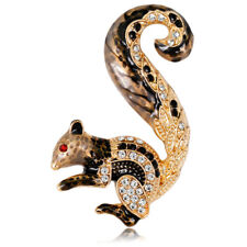 European And American Fashion Jewelry Fashion Personality Cartoon Squirrel B 7Z5