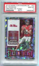 2016 Panini Contenders Draft Eli Manning Cracked Ice