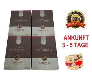4 Boxes Organo Gold Cafe Mocha Ganoderma Lucidum Expiry 12/2023 Express Shipping