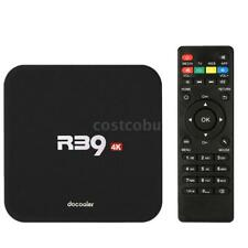 Docooler R39 4K RK3229 Quad Core Android 6.0 TV Box Mini PC WiFi UHD Player J4W6