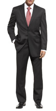 Michael Kors Men's Wool Black Natural Stretch Classic-Fit Suit 42 R New $500