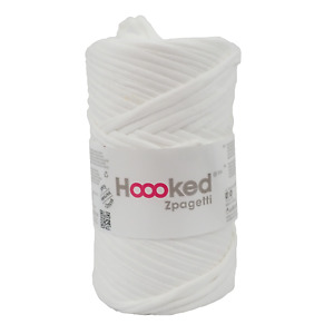 Hoooked Zpagetti White Shades Cotton T-Shirt Yarn - 60m, 350g