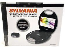 "New listing Sylvania Sdvd7046-black 7"" Portable Dvd Player With Integrated Handle [black] S5"