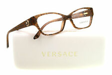 NEW Versace Eyeglasses VE 3172 Brown 991 VE3172 52mm
