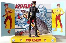 Teen Titan KID FLASH Superhero DC Comic Action Figure on Custom Design Display 2