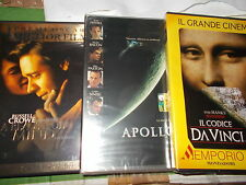 LOTTO 11 DVD RON HOWARD  IL CODICE DA VINCI A BEAUTIFUL MIND EDTV APOLLO 13