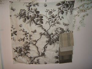 """Ralph Lauren, Ashfield Floral, Remnants, 27"""" W X 27"""" L,Various Colors Available"""