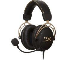 HYPERX Cloud Alpha Gaming Headset - Black & Gold - Currys