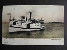 Canada steamship Alexandra, Mirimachi river postcard check it out!
