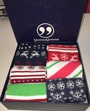 MENS DRESS SOCKS HOLIDAY CHRISTMAS GIFT FUN BUSINESS CASUAL PARTY 6 PAIR BOX