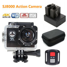 SJ8000 4K 30fps Sony IMX179 Sports Action Camera DVR+Remote+Battery+Charger+Case