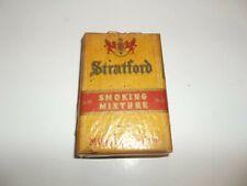 Vintage Stratford Smoking Mixture Tobacco Package Mild Mellow Tobacciana!