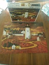 Vintage Charles Wysocki - A Parker Jigsaw Puzzle - This Land - The Lighthouse
