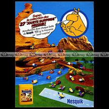 NESQUIK Nestlé GROQUIK 1984 : Pub Publicité Original Advert Ad #A1373