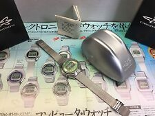 NOS TRN-03 Green CASIO Casiotron 1670 Digital LCD Quartz watch uhr MOT