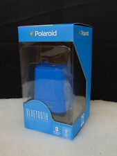 Polaroid Bluetooth Portable Wireless Speaker Light Blue New Open Box #C190