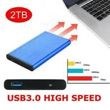 "Portable Usb 3.0 2Tb 1Tb 2.5"" External Hard Drive Disk Ultra Slim For Pc Laptop"