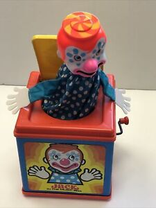 Vintage Mattel JACK IN THE MUSIC BOX Toy - 1976- Working!