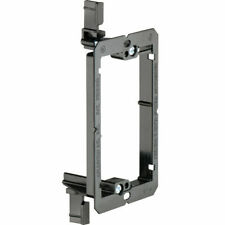 2 Pack - 1-Gang Drywall Bracket Face Wall Plate Mount Mud Ring Low Voltage LV1