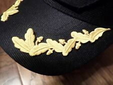U.S MILITARY EMBROIDERED NAVY SCRAMBLED EGGS IRON ON FOR CDR, CAPT, COLONEL